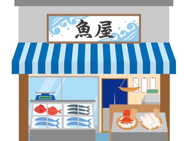 鮮魚・精肉卸問屋